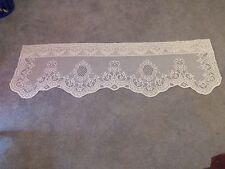 New Ivory lace Valencia design Valance