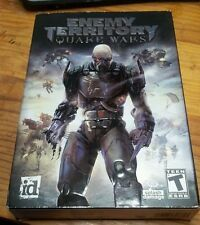 Enemy Territory: Quake Wars PC Game NEW CD SEALED