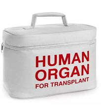Organ Donor Transplant Transport Lunch Cooler  Human Organ for Transport NEW