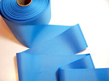 Offray Copen Blue Grosgrain Ribbon 3 inches wide x 3 yards, Wide Blue Ribbon