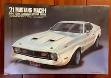 """NEW ARII Plastic Model Kit 1/24 Scale """"71 Mustang Mach-1 #31032-1500 Sealed"""
