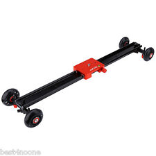 "Outlife 24"" DSLR Camcorder Camera Track Dolly Slider Video Stabilization System"