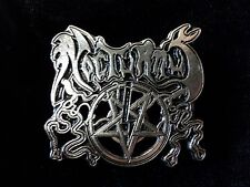 NOCTURNUS  DEATH METAL  PIN  BADGE
