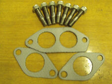 Ford Cross-Flow Escort Cortina Capri Morgan TVR Exhaust stud & nut & gasket Set.