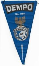 DEMPO GOA INDIA FOOTBALL CLUB OFFICIAL SMALL PENNANT OLD