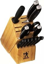 Sale J.A. Henckels International Forged Premio 13-pc Knife Block Set New Knives