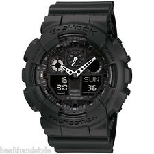 Casio G-Shock GA100-1A1 Black 3 Eye X-Large Digital/Analog Watch GA-100-1A1