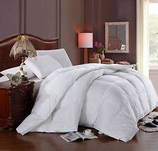 King/Calking size white down alternative comforter duvet insert.