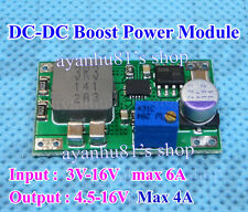 DC-DC Boost 3V-16V 3.7V Step Up to 5V 9V 12V Power Supply Module F Router Mobile