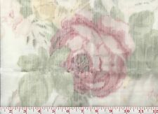 Floral Print Ralph Lauren Drapery Fabric R$380y Stavely Estate CL Blossom
