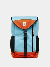 Chums Sweat Nylon Book Backpack Blue Multi Urban Outfitters