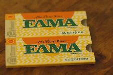 Mastic Chewing Gum ELMA - Sugar Free Flavour, 2 x 10 piece Packs