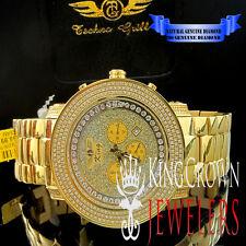 Genuine Diamond Stainless Steel Yellow Gold Finish Jojo/Jojino/Joe Rodeo Watch