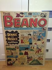BEANO COMIC CANVAS - 13 MAY 1978 - 600MM X 800MM - RARE!  COLLECTABLE