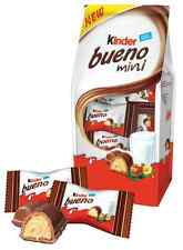 KINDER BUENO MINI Milk & Hazelnut Flavor Wafers 108g 3.8oz