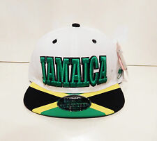 men womens weed cannabis snapback caps hat dope peak baseball jamaica logo