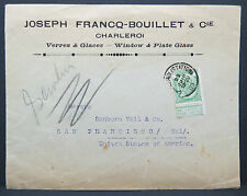 Franco Bouillet Belgique Advertising Envelope - Belgien USA 1903 Brief (Lot 7043