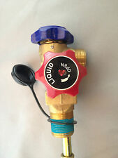 Air Conditioning  Refrigerant Gas Tank Single Outlet SCG Valve 2.6mpa &Tub