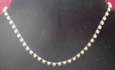 New 9K White Gold Filled Crystal Anklet