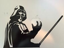 "DARTH VADER Star Wars Decal LAPTOP / MACBOOK Mac Pro Air Sticker Apple 6.25""x9"""