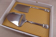 Wallace Stainless NAPOLEAN BEE Two Piece Cheese Set - New In Box