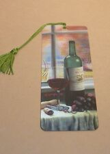 New 3D Lenticular Bookmark - CHATEAU MINDEN - with Tassle - Image Pops Right Out