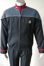 Star Trek Nemesis Captain Sisko Picard Uniform Cosplay Costume Jacket+Pants