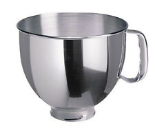KitchenAid 5-Quart Stainless Steel Replacement Bowl Fits Artisan ksm150ps Models