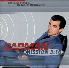 Mission 3:16 EP [EP] by Carman (CD, Nov-1997, Sparrow Records) New!