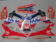 Honda Crf250 2014-2016 Crf450 2013-16 Troy Lee Designs MAV Tv Gráfico Kit ej2013