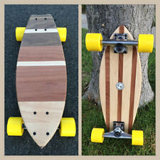 "Mini Cruiser Skateboard -  Cosmos 2-Sided Wood Board ""Mini Croozer"""