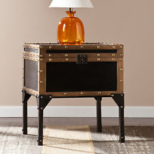 Upton Home Duncan Travel Trunk Side/ End Table
