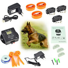 Safe 3 Pet Dog Electronic In-ground Fence Wireless Remote Containment System IP5