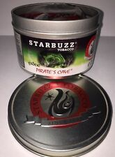PIRATE'S CAVE   Starbuzz 250 gram  Hookah flavor nicotine Free Molasses