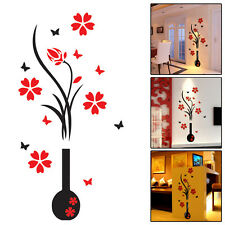 3D Flower Decal Vinyl Decor Art Home Living Room Wall Sticker Removable Mural