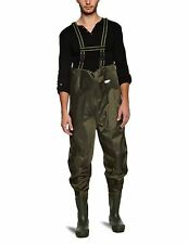 FLADEN COARSE FLY FISHING LIGHTWEIGHT NYLON CHEST WADERS SIZE 10/45 POND RIVER
