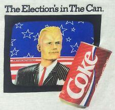 True Vintage 1988 Deadstock Max Headroom Coca Cola Coke White T-Shirt S Small