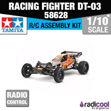 NUOVO! 58628 Tamiya Racing Fighter dt-03 Entry Level Kit R/C RADIO CONTROL 1/10th