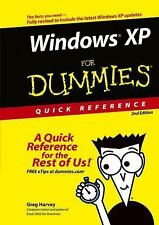 Windows XP for Dummies Quick Reference - Acceptable - Harvey, Greg - Plastic Com