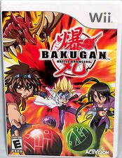 NEW Activision/Nintendo BAKUGAN BATTLE BRAWLERS Wii VIDEO GAME 2009 E-Everyone