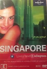 Lonely Planet Six Degrees Singapore SBS Region 4 DVD VGC