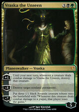 *FOIL* VRASKA THE UNSEEN NM mtg Jace vs Vraska Gold - Planeswalker Mythic