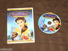 **Beauty and the Beast** Belle's Magical World (DVD, 2003) RARE DISNEY DVD