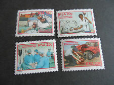 SOUTH AFRICA 1986 SG 594-597 BLOOD DONOR CAMPAIGN MNH