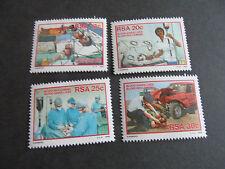 Sudafrica 1986 Sg 594-597 de donantes de sangre campaña Mnh