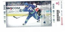 2014 VANCOUVER CANUCKS VS CALGARY FLAMES TICKET STUB 1/18/14 DAN HAMHUIS