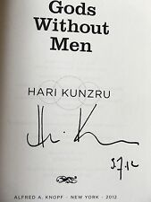 Gods Without Men by Hari Kunzru ~ SIGNED & DATED ~ 2012 Paperback ARC BRAND NEW
