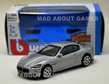 MASERATI GRAN TURISMO 1:43 Car Silver NEW Model Diecast Models Cars Die Cast