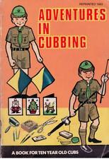 Adventures in Cubbing - A Book For 10 Year Old Cubs - 1983 - Paperback -S/Hand