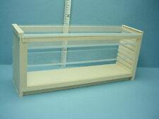 """Dollhouse Miniature Store Counter-Plexi Top & Front 1"""" Scale #580 M & M Spec."""